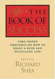 Cover of: The Book Of Success