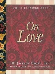 Cover of: Life's Treasure Book on Love
