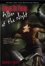 Cover of: Cirque Du Freak #8: Allies of the Night: Book 8 in the Saga of Darren Shan