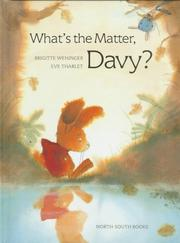 Cover of: What's the matter, Davy?