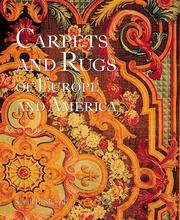 Cover of: Carpets and rugs of Europe and America