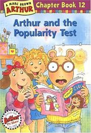 Arthur and the Popularity Test by Marc Tolon Brown