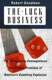 Cover of: The luck business