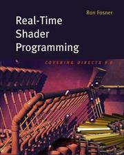 Cover of: Real-Time Shader Programming (The Morgan Kaufmann Series in Computer Graphics)