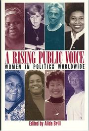 Cover of: A rising public voice |