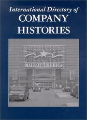 Cover of: International Directory of Company Histories Volume 45. | Jay P. Pederson