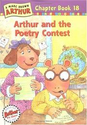 Cover of: Arthur and the Poetry Contest (Arthur Chapter Books #18)