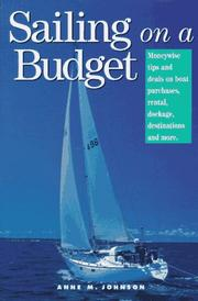 Cover of: Sailing on a budget | Johnson, Anne M.