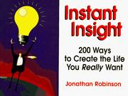Cover of: Instant insight