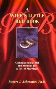 Cover of: A wife's little red book