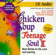 Cover of: Chicken Soup for the Teenage Soul II | Jack Canfield