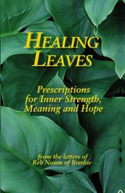 Cover of: Healing leaves