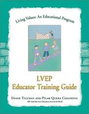 Cover of: Living Values Educator Training Guide (Living Values)