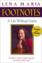 Cover of: Footnotes