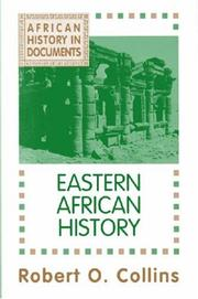 Cover of: Eastern African history