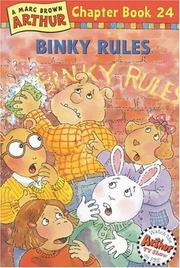Cover of: Binky Rules: A Marc Brown Arthur Chapter Book 24 (Arthur Chapter Books)