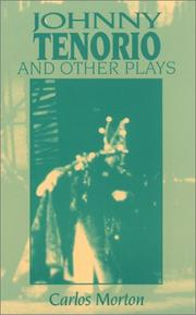 Cover of: Johnny Tenorio and other plays