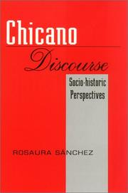 Cover of: Chicano discourse