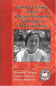 Cover of: Enriqueta Vasquez And the Chicano Movement