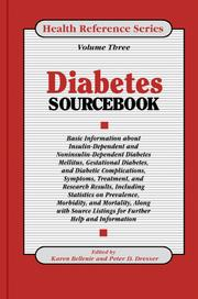 Cover of: Diabetes Sourcebook |