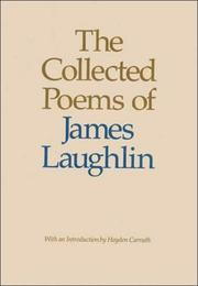 Cover of: The collected poems of James Laughlin