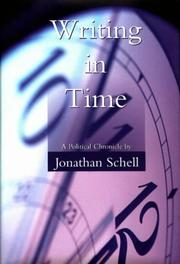 Cover of: Writing in time