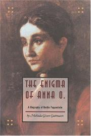 Cover of: The Enigma of Anna O
