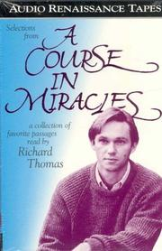 Cover of: Selections from A Course In Miracles | Roger Walsh