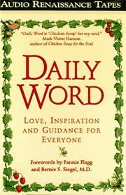Cover of: Daily Word