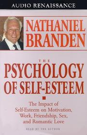 Cover of: Psychology of Self-Esteem |