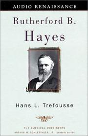 Cover of: Rutherford B. Hayes