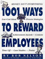 Cover of: 1001 Ways to Reward Employees
