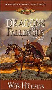 Dragons of a Fallen Sun (Dragonlance by Margaret Weis
