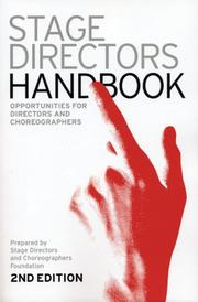 Cover of: Stage Directors Handbook