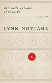 Cover of: Intimate Apparel/ Fabulation | Lynn Nottage