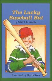 Cover of: The Lucky Baseball Bat (Springboard Books) | Matthew F Christopher