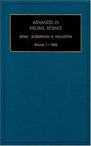 Cover of: Advances in Neural Science, Volume 1 (Advances in Neural Science)