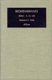 Cover of: ATPases (Biomembranes. A Multi-Volume Treatise)