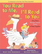 You read to me, I'll read to you : very short Mother Goose tales to read together