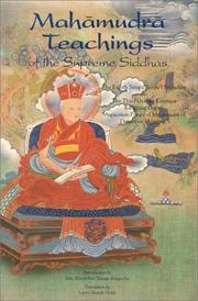 Cover of: Mahāmudrā Teachings of the Supreme Siddhas