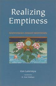 Cover of: Realizing emptiness