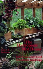 Cover of: The Hydroponic Hothouse