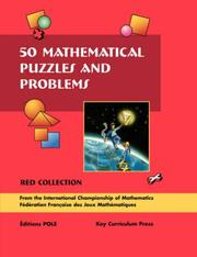 Cover of: 50 Mathematical Puzzles & Problems Red Collection