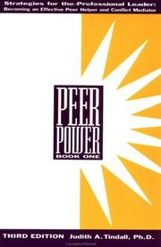 Cover of: Peer Power (Book 1)