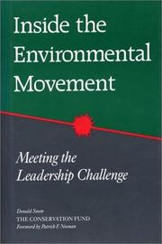 Cover of: Inside the Environmental Movement