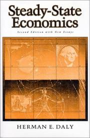Cover of: Steady-state economics