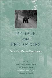 Cover of: People and predators |