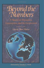 Cover of: Beyond the numbers | edited by Laurie Ann Mazur ; foreword by Timothy E. Wirth.