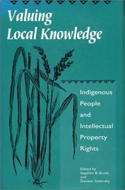 Cover of: Valuing Local Knowledge |