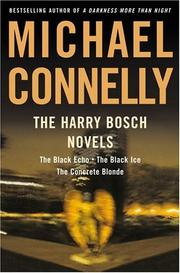 Cover of: The Harry Bosch novels